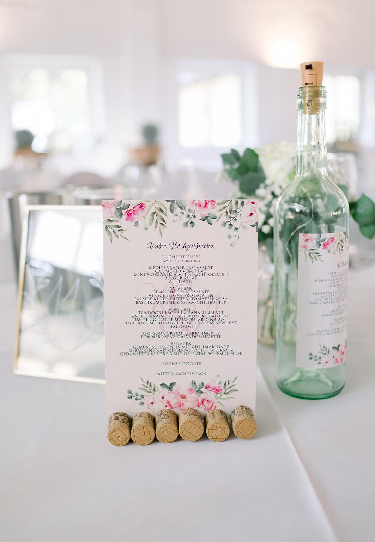 Hochzeitsmenü